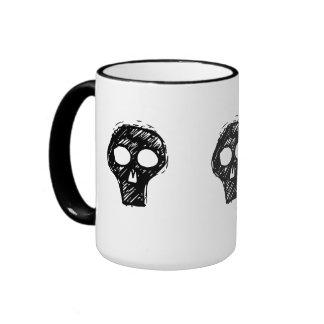 Cráneos Tazas De Café