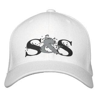 Cráneos y casquillo cabido logotipo de Skulegirls Gorra Bordada