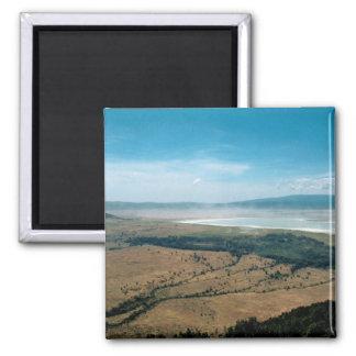 Cráter de Ngorongoro Imán Para Frigorifico