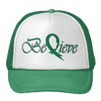 Crea (Cinta-Camionero verde) Gorros Bordados