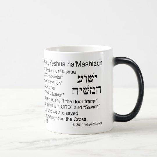 Crea en el nombre taza mágica