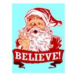 Crea en Papá Noel Postales