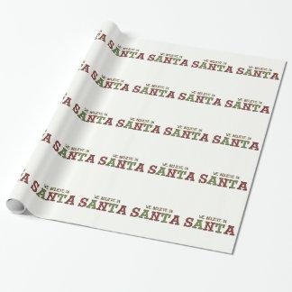 Crea en papel de envoltorio para regalos del