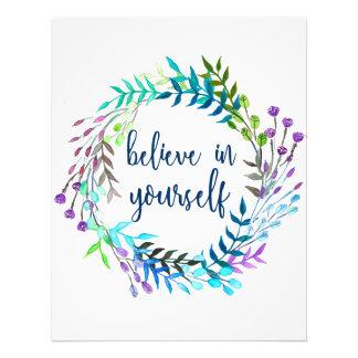 """""""Crea en sí mismo"""" la cita inspirada Foto"""