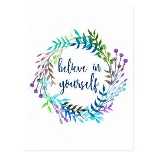 """Crea en sí mismo"" la cita inspirada Postal"