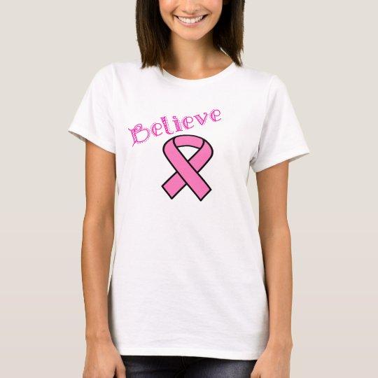 Crea la camisa del cáncer de pecho