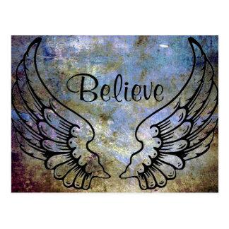 Crea - la postal celestial de las alas del ángel