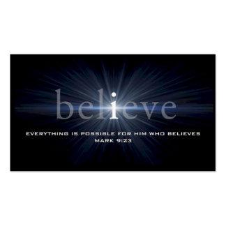 Crea la tarjeta cristiana del mensaje plantillas de tarjetas personales
