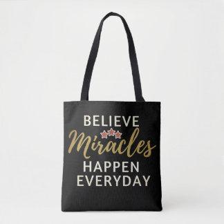 Crea, los milagros suceden la bolsa de asas diaria