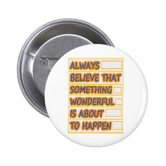 CREA los tiempos maravillosos de la creencia: G ar Pin