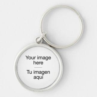 Crea tu llavero personalizado con foto en blanco