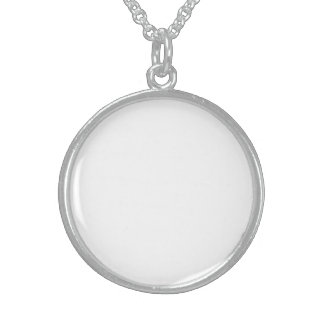 Crea Tu Propio Medallón De Plata Esterlina Persona Collar De Plata De Ley