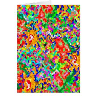 Creación ARTÍSTICA de ColorMANIA:  REGALOS baratos Tarjeta