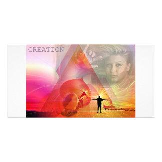 creación tarjetas fotográficas