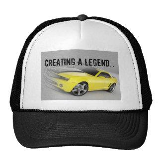 Creando una leyenda… gorra