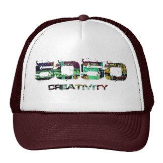 Creatividad 5050 gorras