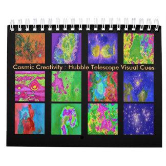 Creatividad cósmica calendario