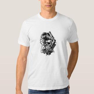 Credo del engrasador camisetas