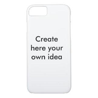 Cree aquí su propia idea - por la camisa de funda iPhone 7