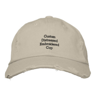 Cree el casquillo/el gorra bordados apenados gorras de béisbol bordadas