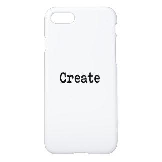 Cree Funda Para iPhone 7