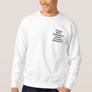 Cree la camiseta bordada para hombre de encargo de