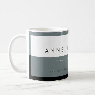 cree la profesión moderna del personalizado del taza de café