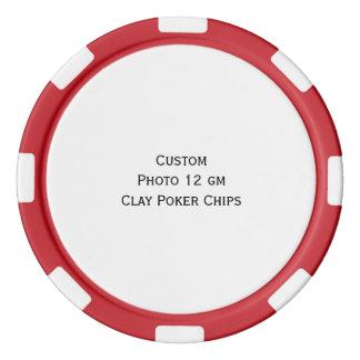 Cree los microprocesadores de encargo del juego de fichas de póquer