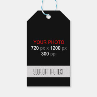 Cree su etiqueta de encargo del regalo de las etiquetas para regalos