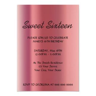 Cree su invitación del dulce 16
