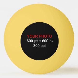 Cree su propia bola de ping-pong amarilla