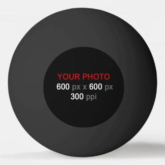 Cree su propia bola de ping-pong negra