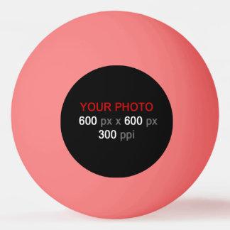 Cree su propia bola de ping-pong rosada