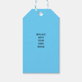 Cree su propia foto de encargo etiquetas para regalos