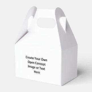 Cree su propia imagen o texto abierta del concepto caja para regalos de fiestas
