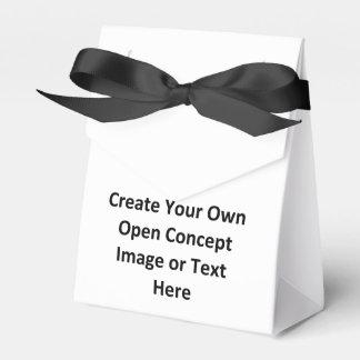 Cree su propia imagen o texto abierta del concepto cajas para regalos de boda