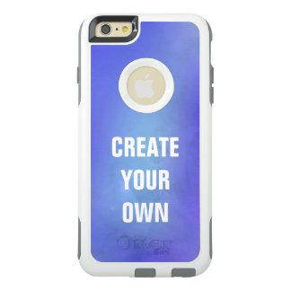 Cree su propia pintura azul de la acuarela funda otterbox para iPhone 6/6s plus