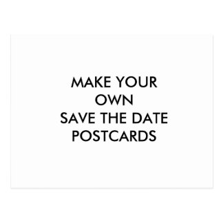 Cree su propia reserva del personalizado la postal