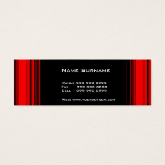 Cree su propia tarjeta de visita fina 4