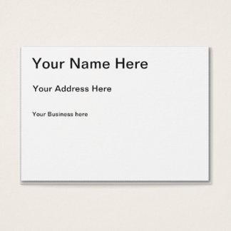 Cree su propia tarjeta de visita rechoncha