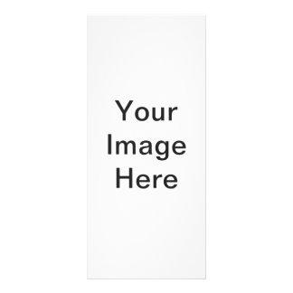 Cree su propia tarjeta del estante lona publicitaria