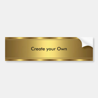Cree su propio accesorio de oro de la pegatina par pegatina para coche