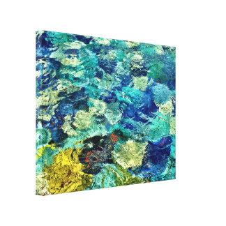 Cree su propio arte abstracto 14 x 11