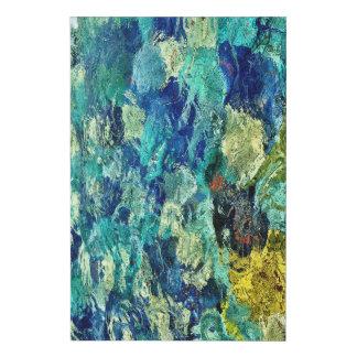 Cree su propio arte abstracto 24 x 36