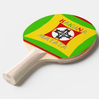 Cree su propio bonito lindo colorido de Hakuna Pala De Ping Pong