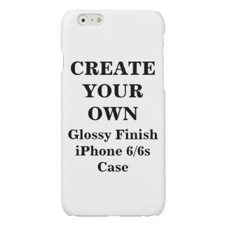 Cree su propio caso brillante del final del iPhone
