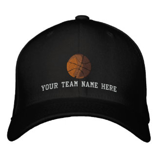 Cree su propio casquillo del baloncesto gorra bordada