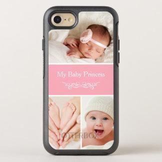 Cree su propio collage de la foto del bebé funda OtterBox symmetry para iPhone 7