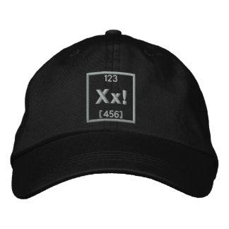 Cree su propio elemento del bordado gorra de beisbol bordada
