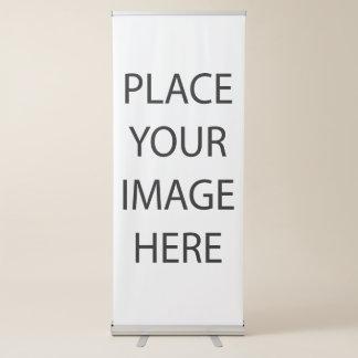 Cree su propio personalizado pancartas retráctiles